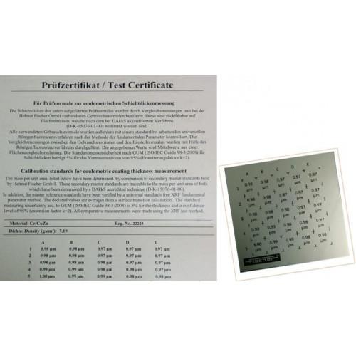 Padrão de calibração - CAL-S C CR/FE, NI, AL 2 - 6 µM