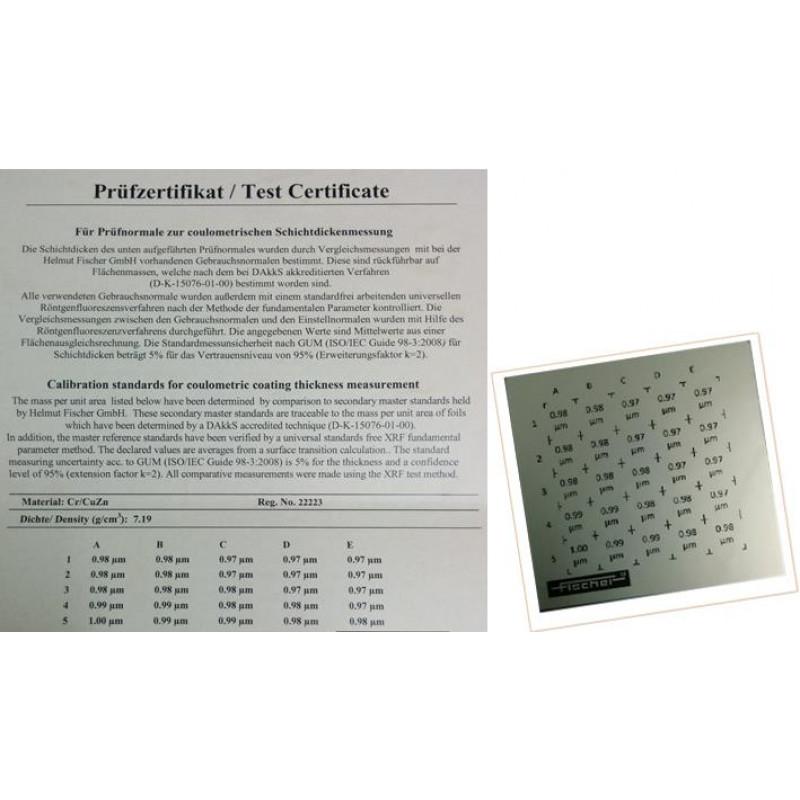 Padrão de calibração - CAL-S C NI/CU 6-9µM